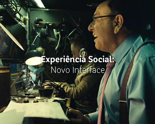 MEO | Experiência Social: Novo Interface