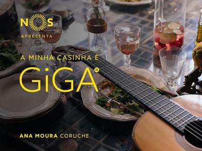 NOS GiGA | Ana Moura, A Minha Casinha é GiGA em Coruche