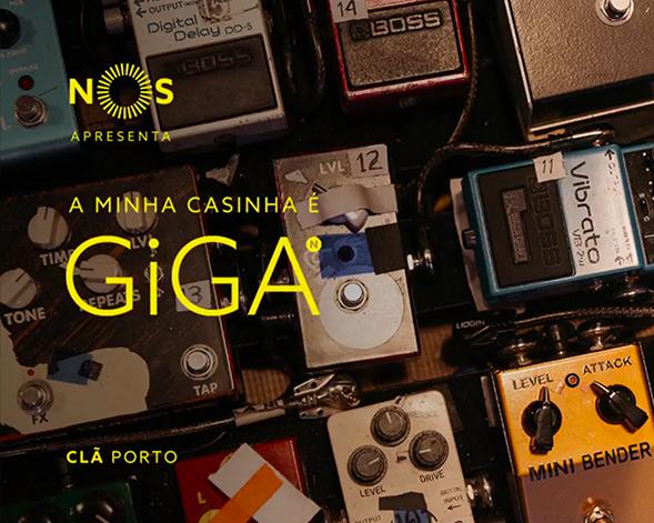 NOS GiGA | Clã, A Minha Casinha é GiGA no Porto