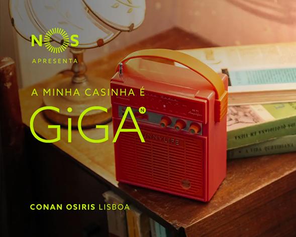 NOS GiGA | Conan Osiris, A Minha Casinha é GiGA em Lisboa
