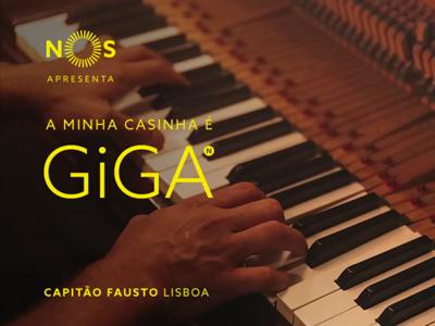 NOS GiGA | Capitão Fausto, A Minha Casinha é GiGA em Lisboa
