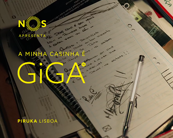 NOS GiGA | Piruka, A Minha Casinha é GiGA em Lisboa