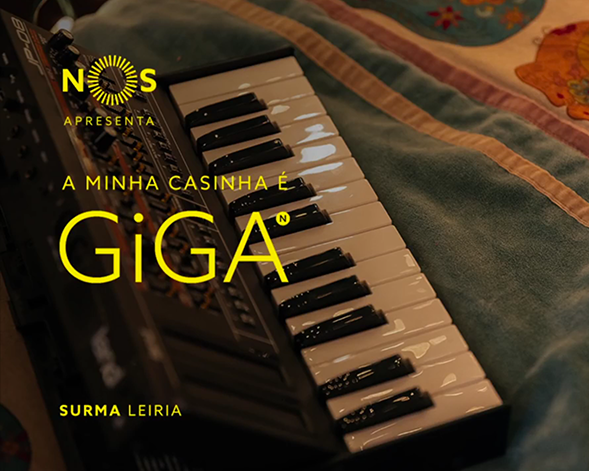 NOS GiGA | Surma, A Minha Casinha é GiGA em Leiria