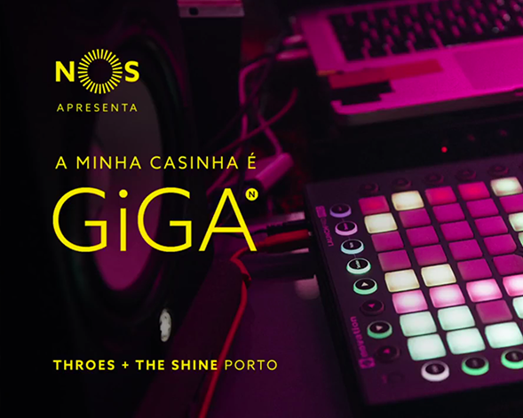 NOS GiGA | Throes + The Shine