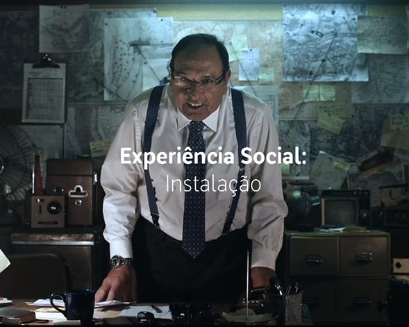 MEO | Experiência Social: Instalação