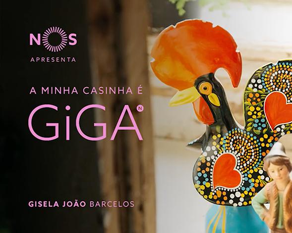 NOS GiGA | Gisela João