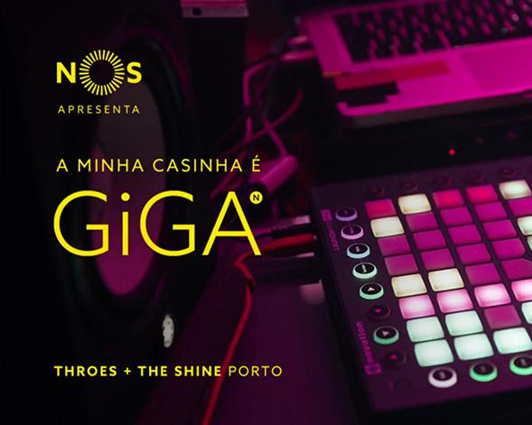 NOS GiGA | Throes + The Shine